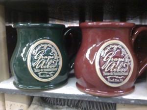 Custom Handmade Round Belly Mugs