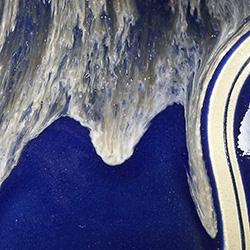 Navy w/Sand White