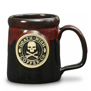 Death Wish Coffee Co. <a class='qbutton' href='https://deneenpottery.com/mug-styles/camper-mug/'>View More Details</a>