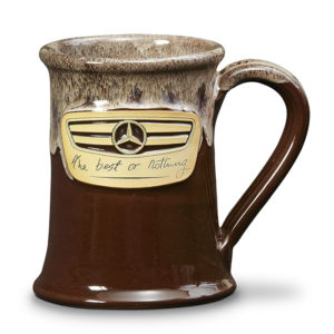 Mercedes Benz <a class='qbutton' href='http://deneenpottery.com/mug-styles/junior-executive-mug/'><span class='justdetails'>View More </span>Details</a>
