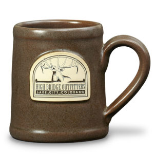 High Bridge Outfitters <a class='qbutton' href='https://deneenpottery.com/mug-styles/rancher-mug/'>View More Details</a>