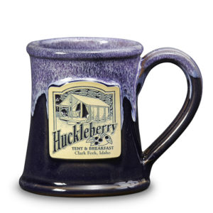 Huckleberry T&B <a class='qbutton' href='https://deneenpottery.com/mug-styles/huckleberry-tent-breakfast/'><span class='justdetails'>View More </span>Details</a>