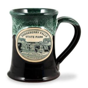 Gooseberry Falls State Park <a class='qbutton' href='https://deneenpottery.com/mug-styles/junior-executive-mug/'>View More Details</a>