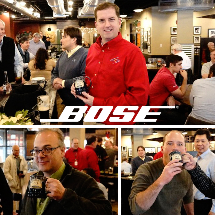 Bose Corporation - Mug Party