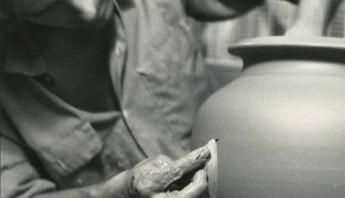 Master Potter Peter Deneen - Vintage Wheel Throwing - 1969