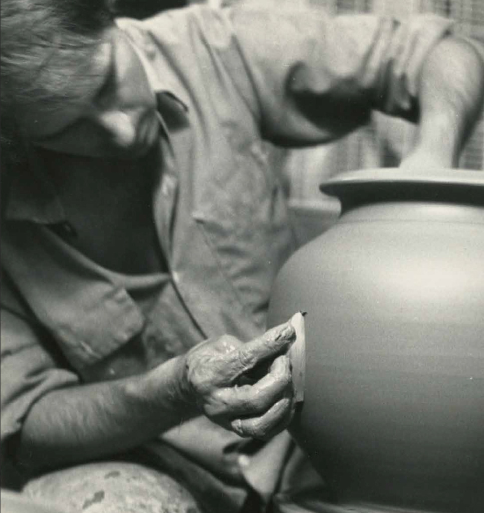 Master Potter Peter Deneen - Vintage Wheel Throwing - 1969
