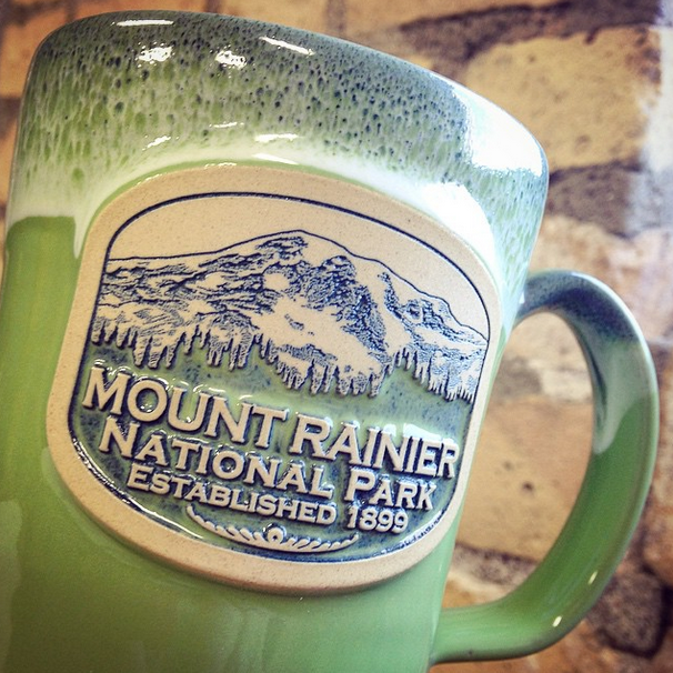 National Park Week Custom Mug Recap Deneen Pottery