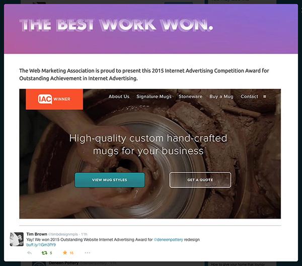 Award wining dating site
