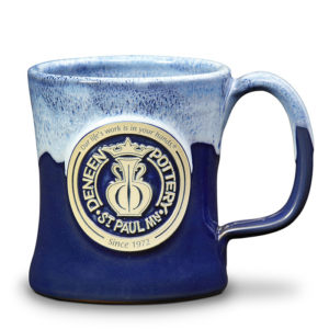 Retro Deneen Pottery mug for sale -
