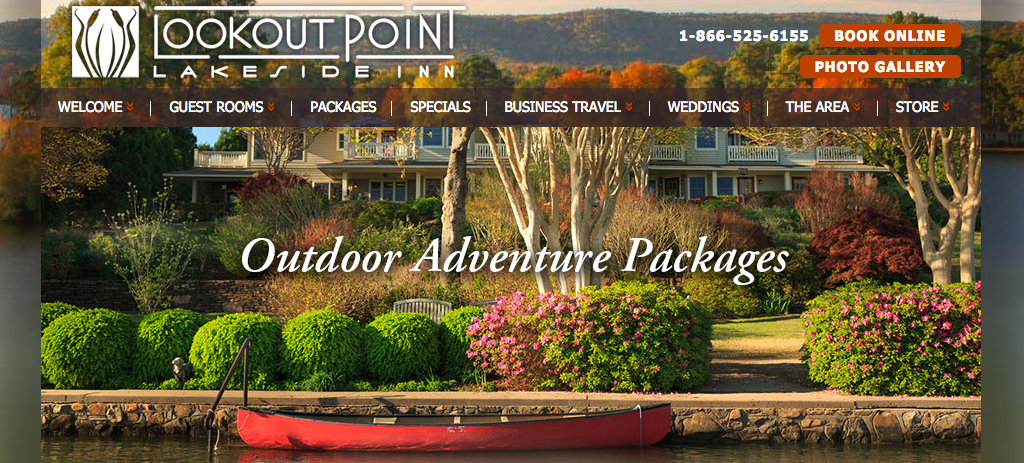 Lookout Point Inn - Outdoor Adventure Packages