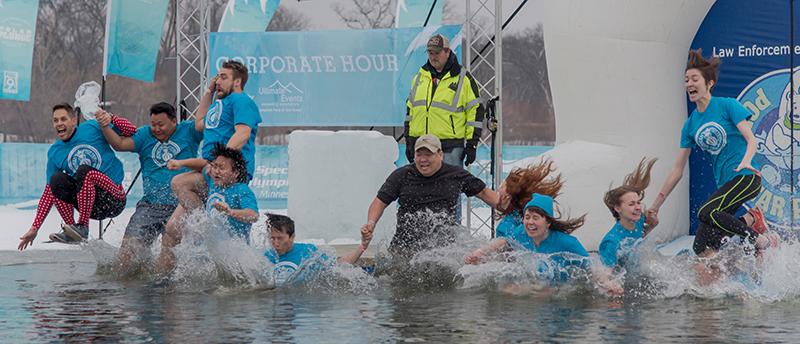 2016 Corporate Hour Polar Plunge