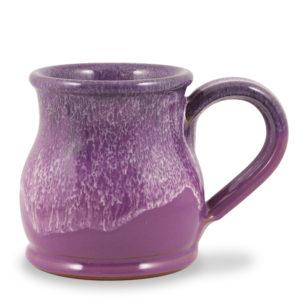 Round Belly - Lilac w/Plum White