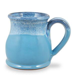 Round Belly - Powder Blue w/Blue White