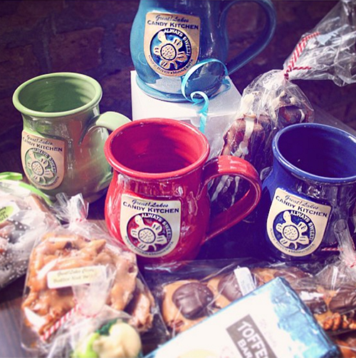 Great Lakes Candy Kitchen Client Mugs