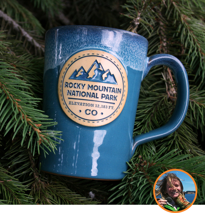Rocky Mountain National Park Mugs