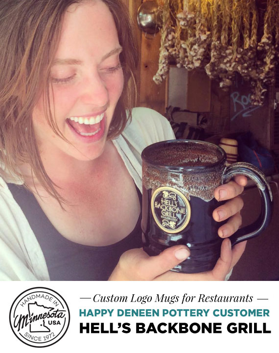 Custom Logo Mugs for Restaurants - Marketing Restaurant ideas