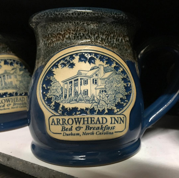 Deneen Pottery Arrowhead Inn
