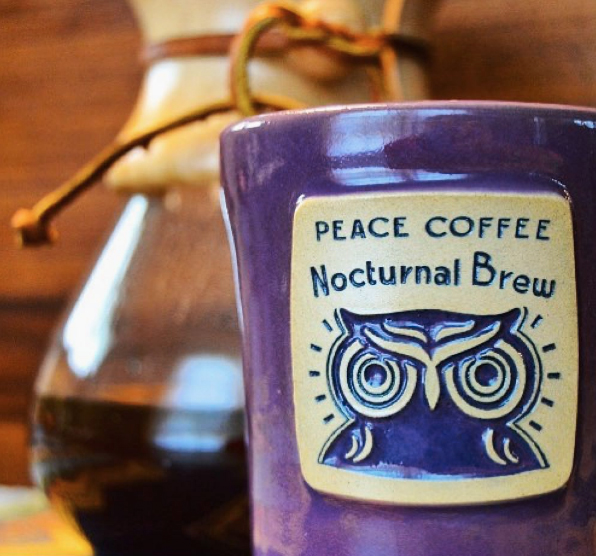Deneen Pottery Peace Coffee