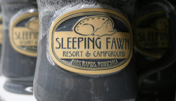 Deneen Pottery Sleeping Fawn