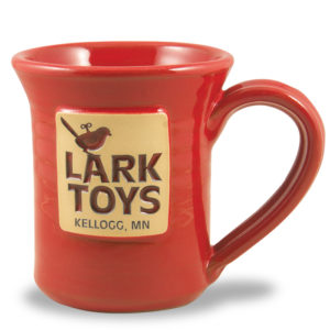 Lark Toys <a class='qbutton' href='https://deneenpottery.com/mug-styles/flare-mug/'>View More Details</a>