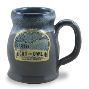 Cant and Owl <a class='qbutton' href='https://deneenpottery.com/mug-styles/patriot-mug/'>View More Details</a>