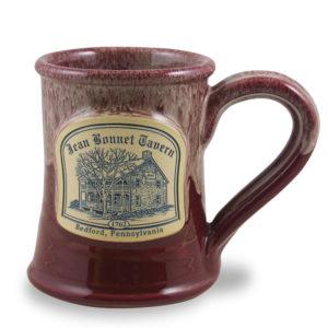 Jean Bonnet Tavern <a class='qbutton' href='https://deneenpottery.com/mug-styles/huckleberry-tent-breakfast/'><span class='justdetails'>View More </span>Details</a>