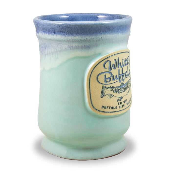Aqua w/Blue White