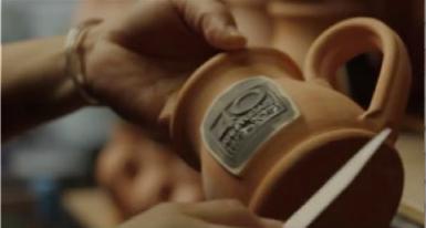 Custom Logo Coffee Mugs & Handmade Stoneware by Deneen Pottery