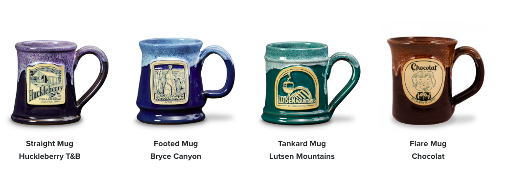 deneen pottery mugs