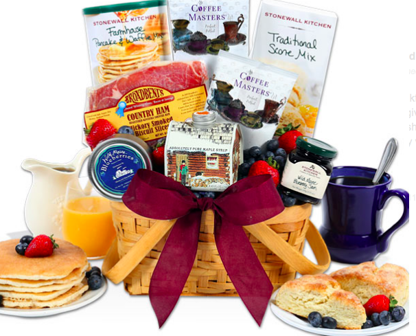 breakfast gift basket