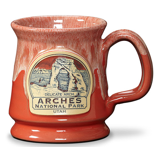 Red orange Arches National Park Mug