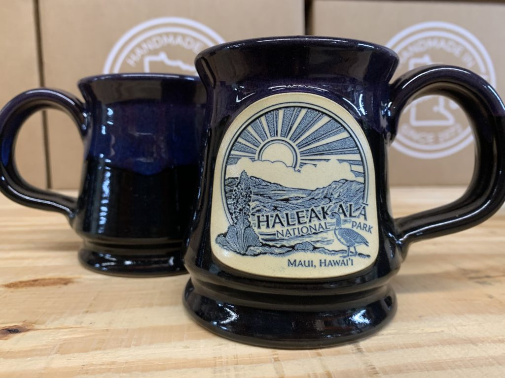 Haleakala National Park Coffee Mug - Deneen Pottery