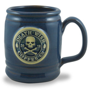 Death Wish Coffee Co. <a class='qbutton' href='https://deneenpottery.com/mug-styles/lumberjack/'>View More Details</a>